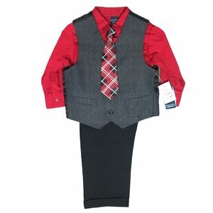 Nautica Boys 2T Matching Set Outfit 4pc NWT